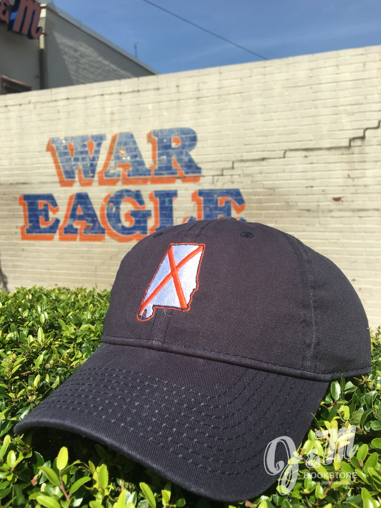 The Game State of AL with State Flag Navy Hat