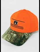 The Game Neon Orange/Camo Bar Hat Snapback