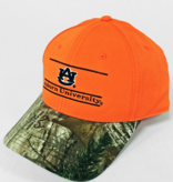 The Game Neon Orange/Camo Bar Hat Snapback
