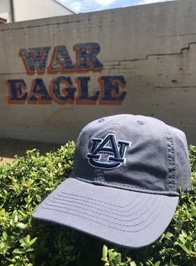 AU Slate Blue Twill Hat