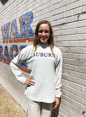 League Auburn Embroidered Best Crew