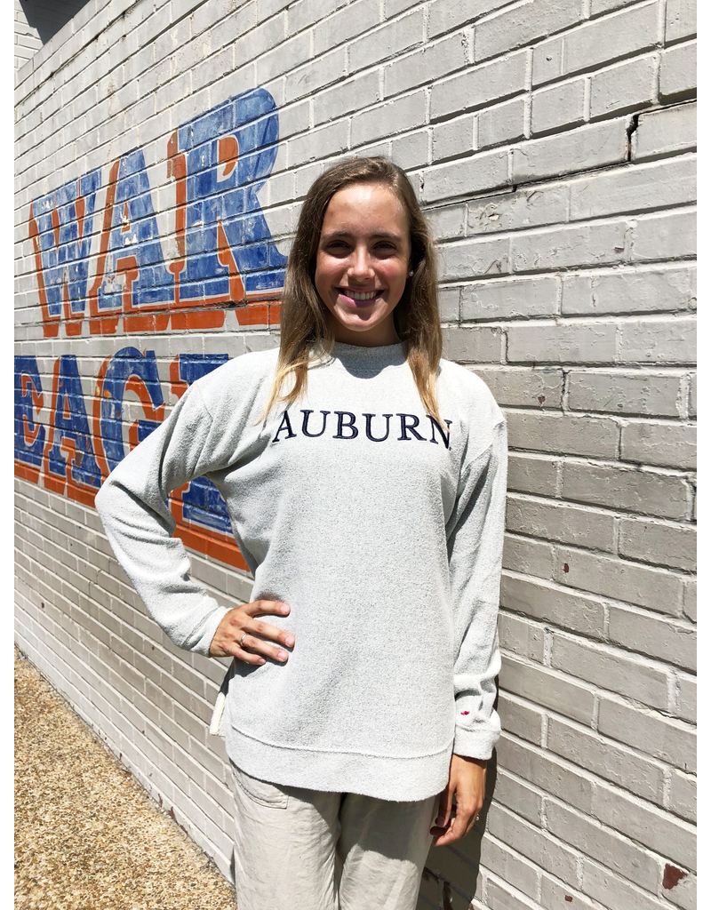 League Auburn Embroidered Best Crew
