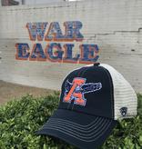 Eagle Thru A Navy Putty Mesh One-Fit Hat