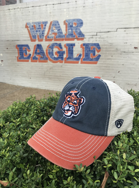 Vintage Aubie Three Tone Mesh Hat