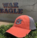 Orange AU with Grey Mesh Hat