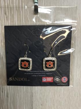 AU Square Dangle Earrings