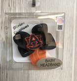 Navy and Orange AU Baby Headband