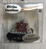 AU Tiara Baby Headband