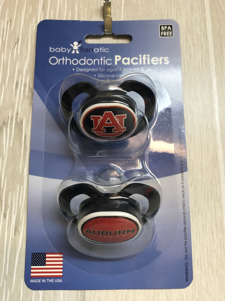 2 Pack Auburn Pacifier Set