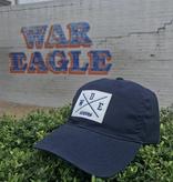 WDE Auburn Quadrant Patch Navy Hat