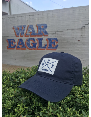 WDE Auburn Quadrant Patch Navy Hat