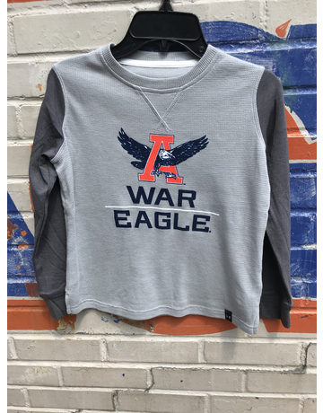 Under Armour Eagle Thru A War Eagle Youth Waffle Crew