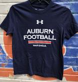 Under Armour Auburn Football War Eagle Youth Cotton T-Shirt