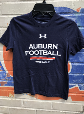 Under Armour Auburn Football War Eagle Youth Cotton T-Shirt