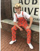 Shinesty Shinesty AU All Over Orange Gameday Overalls