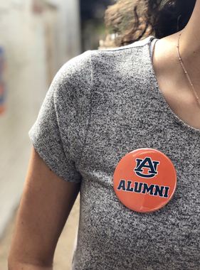 AU Alumni Button