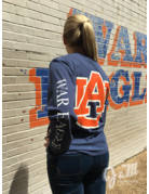 League Big AU on Back Long Sleeve T-Shirt