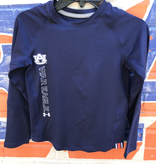 Under Armour F19 Youth Long Sleeve Horizontal War Eagle T-Shirt