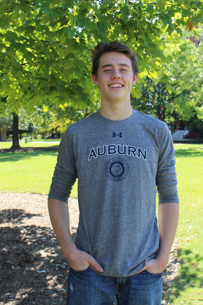 Under Armour Arch Auburn Triblend Seal Long Sleeve T-Shirt