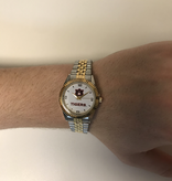 Auburn University All Pro Men's Two Tone Watch