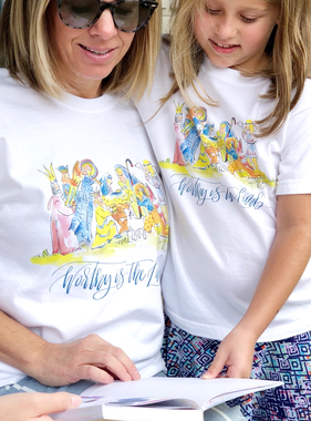 The Local Market Nativity Shirt
