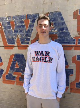 MV Sport Classic War Eagle Wall Long Sleeve T-Shirt