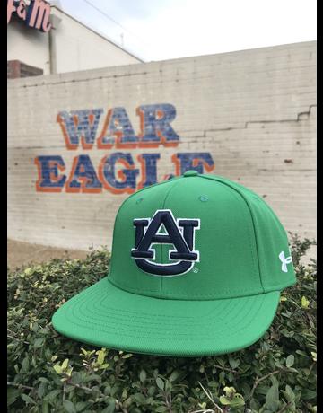 Under Armour AU Green Classic Baseball Hat
