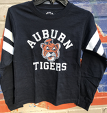 League Arch Auburn Vintage Aubie Tigers Sporty Stripe Long Sleeve T-Shirt