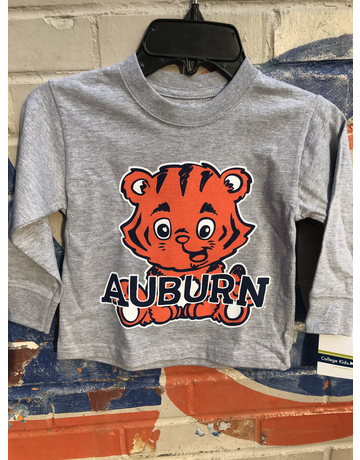 Baby Aubie Auburn Toddler Long Sleeve T-Shirt