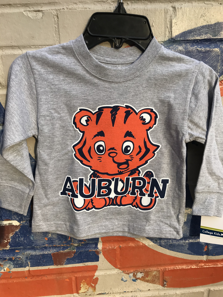 Baby Aubie Auburn Toddler Long Sleeve T-Shirt