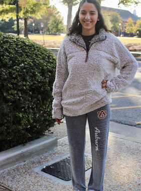 AU Tigers Auburn Ladies Marble Knit Pants