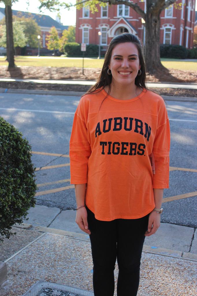 Auburn Tigers Vintage Ladies Jersey