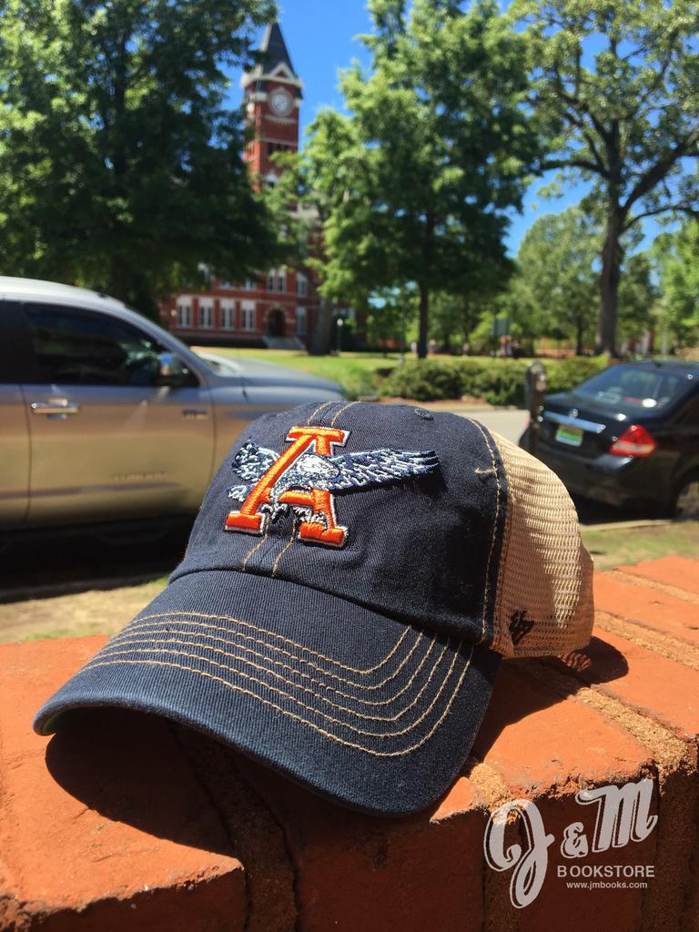 47 Brand Eagle Thru A Navy Stitch with Tea Mesh Hat