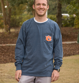 MV Sport Vintage Aubie Head Long Sleeve T-Shirt