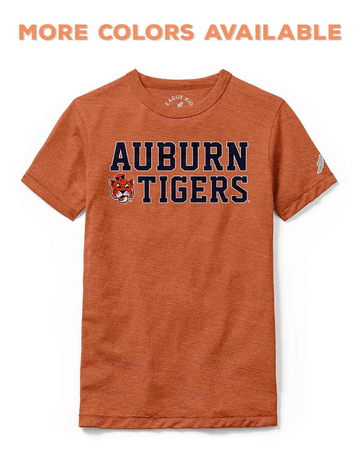 League Auburn Tigers Vintage Aubie Youth T-Shirt