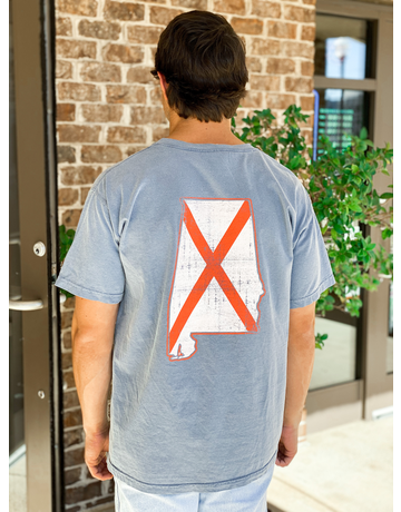 MV Sport State of AL State Flag T-Shirt