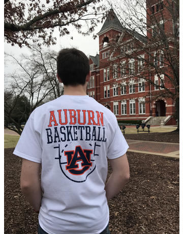 Auburn Basketball Top of the Key T-Shirt