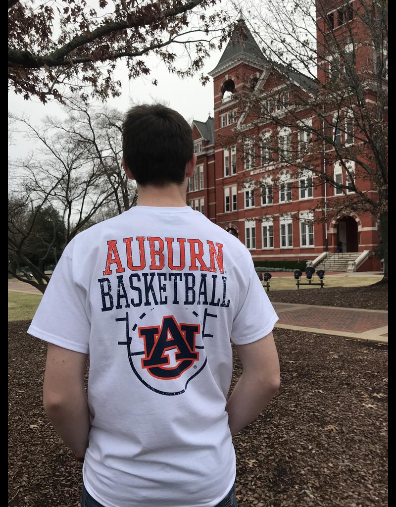 Auburn Basketball Top of the Key T-Shirt
