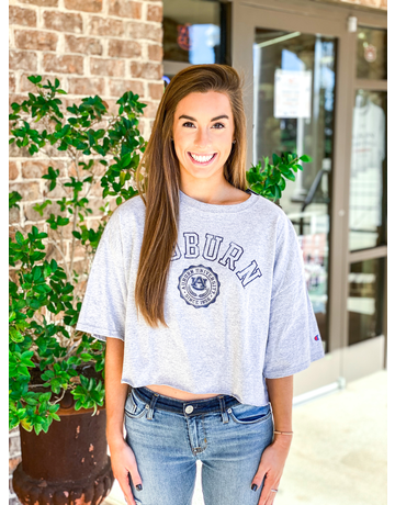 Arch Auburn Seal Cropped T-Shirt