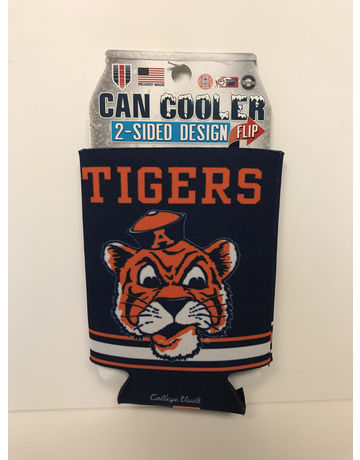 Vintage Aubie 2-Sided Can Koozie