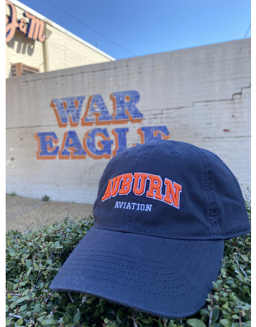 Arch Auburn Aviation Hat