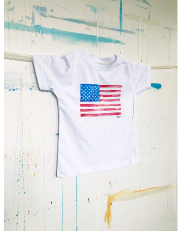 Watercolor Flag Toddler T-Shirt