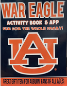 War Eagle Activity Book-Hall