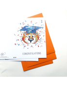 Aubie Graduation Pack of 4 Cards