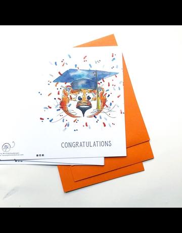 Aubie Graduation Pack of 4 Cards