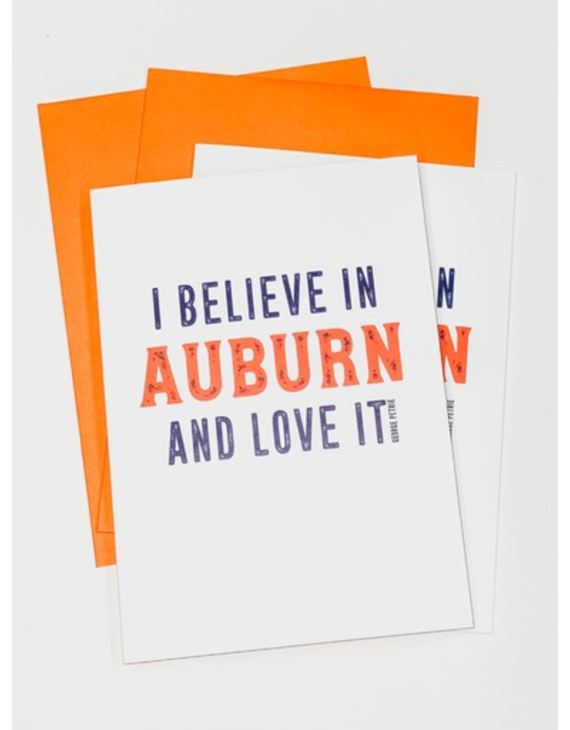 Aubie Creed Pack of 4 Cards