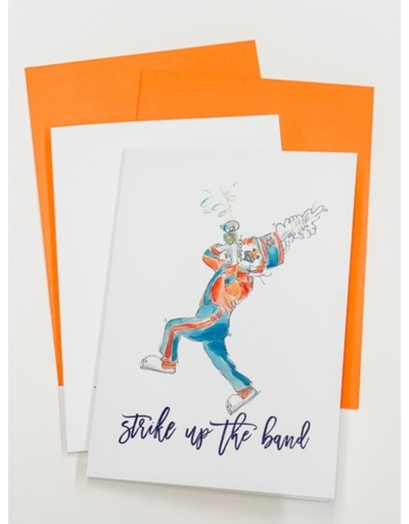 Aubie Strike Up The Band Pack of 4 Cards