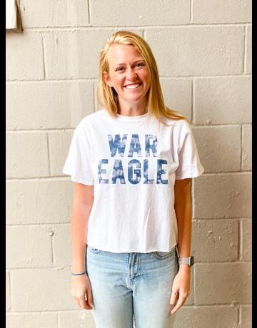 League War Eagle Cotton Crop Top