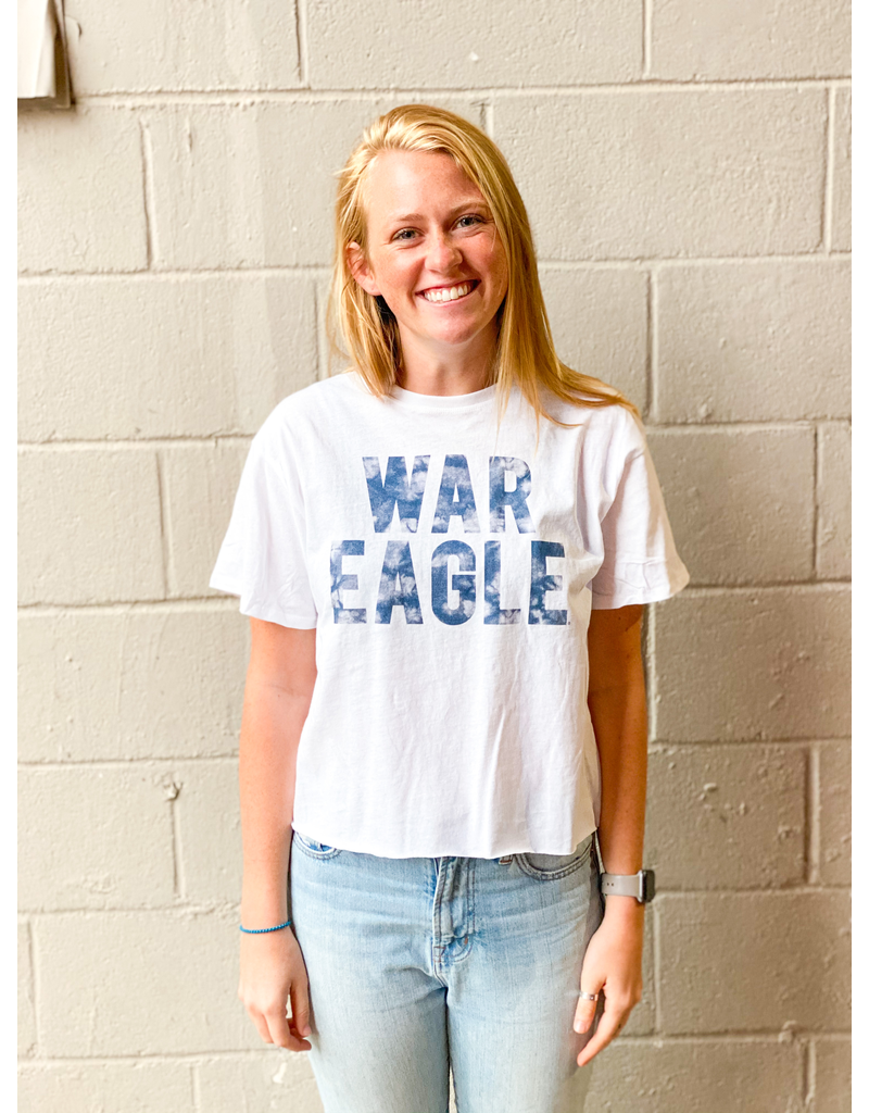 League War Eagle Cotton Crop Top