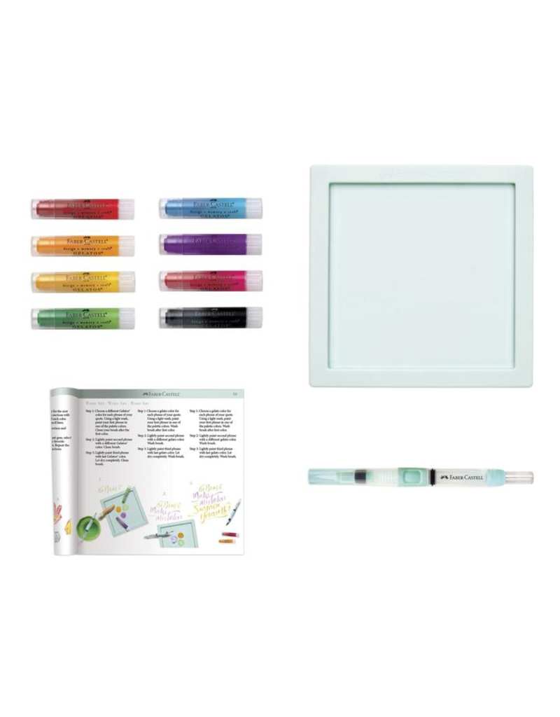 Faber Castell Gelatos Intro to Watercolors Set <br /> 11 piece